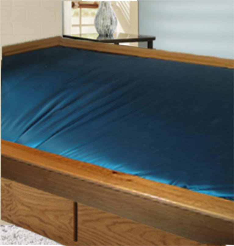 Waterbed sizes can be found here